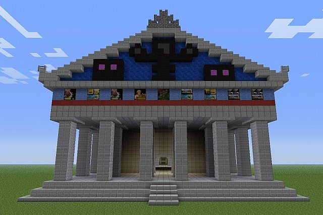 Temple Of The Npc S Minecraft Project