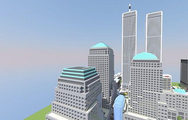 World Trade Center And Manhattan 12 Minecraft Project