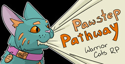 Pawstep Pathway Warrior Cats-  Don't join if you don't read Warrior Cats! Minecraft Server