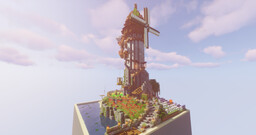 Flowerfen Spire Minecraft Map & Project
