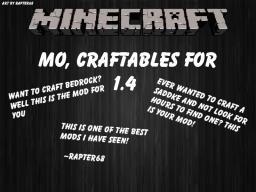 Minecraft Mo Craftables Mod [1.4.7] v1.0 (Secret Update) Minecraft Mod