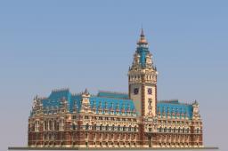 Hamburg City Hall Minecraft