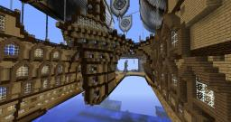 The Airship 'stormbreaker II' Minecraft Map & Project