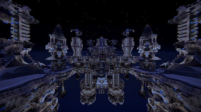 Mega Space Station Minecraft Project