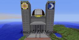 The Church of the Sacred Ponies Minecraft Map & Project