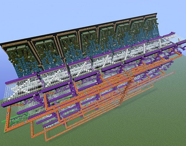 16-segment, 24 digit, 48 message redstone display. - by ZonkedCompanion