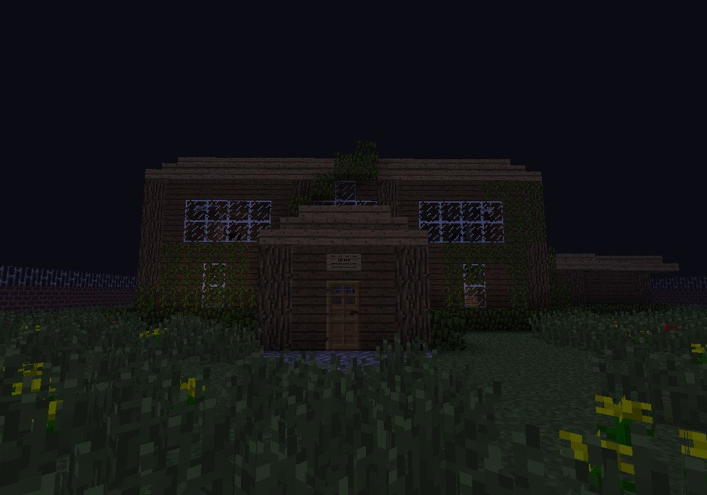 how to make a scary house minecraft