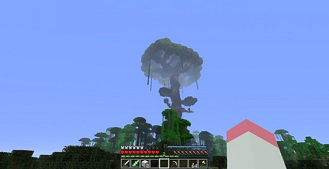 Projection Mapping Trees Giant Tree Minecraft Project