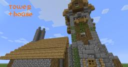 Tower House Thingy Minecraft Map & Project