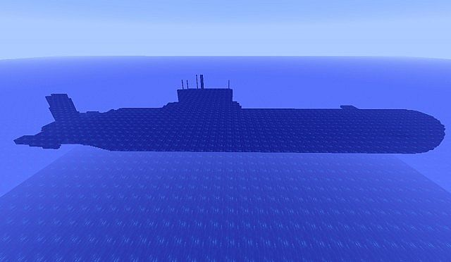 Soviet Ssgn 941 Typhoon Nuclear Submarine Minecraft Project