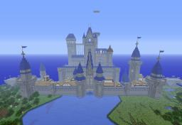 Disney Castle Minecraft