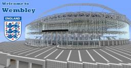 England's Football Stadium - Wembley Minecraft Map & Project
