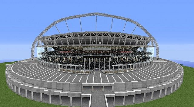 Englands football stadium wembley minecraft project englands football stadium wembley photolibrary gallery public world viewer sciox Gallery