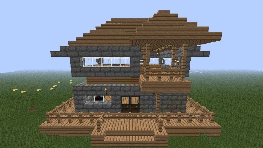 The mini house minecraft project for Mini mansions houses