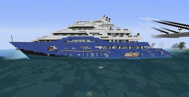 Mama Ana Superyacht Minecraft Project