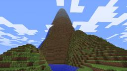 Awesome mountain terrain for mapmaking/survivaling Minecraft Project