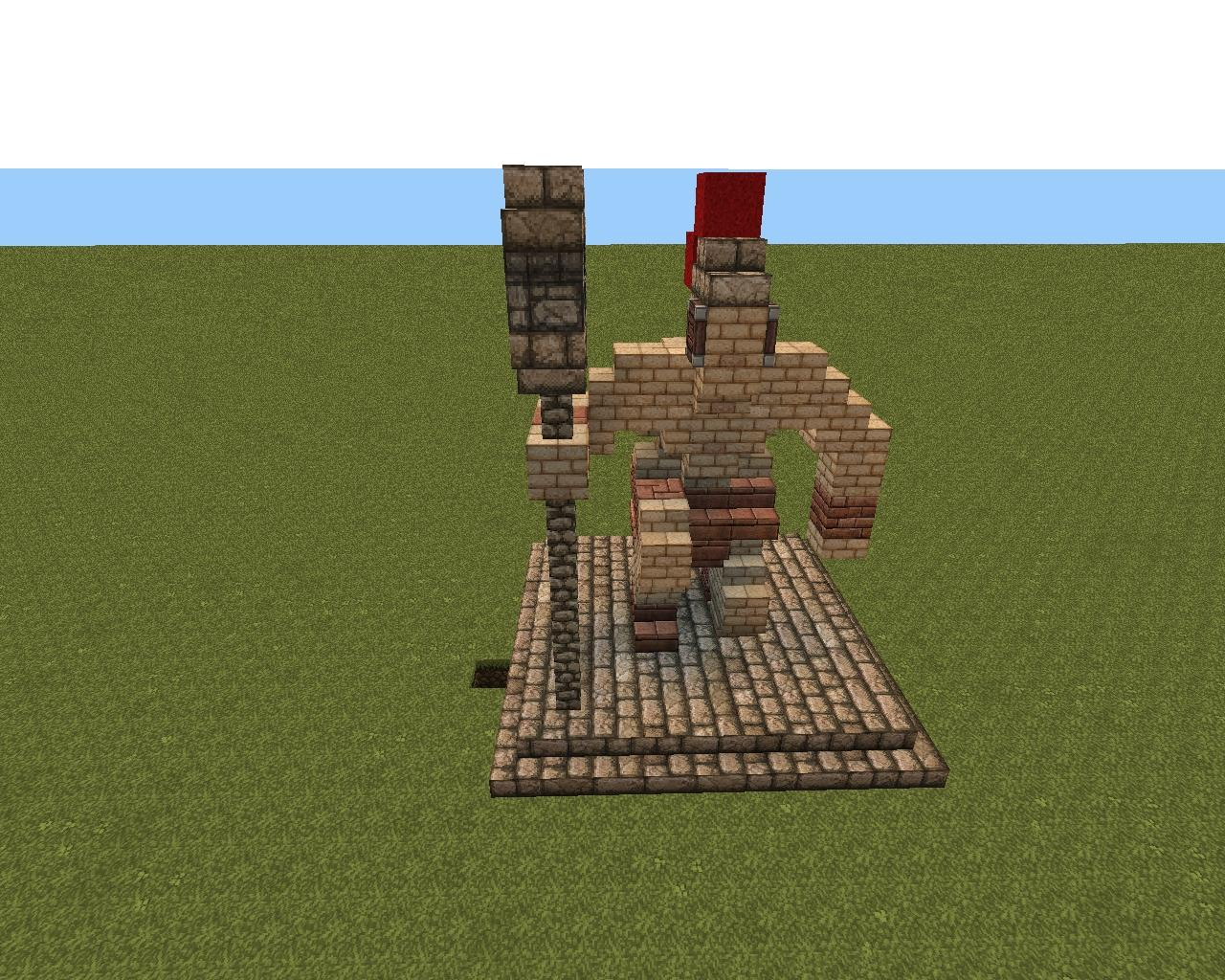 Small Dwarven Statue Minecraft Project