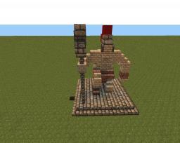small Dwarven statue Minecraft