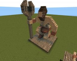 normal Dwarven statue Minecraft