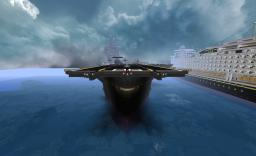 VAC96 & Goldline Ships Minecraft Map & Project