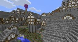 Aeratal Mountainside City by blakedolak [DOWNLOAD AVAILABLE] Minecraft Map & Project