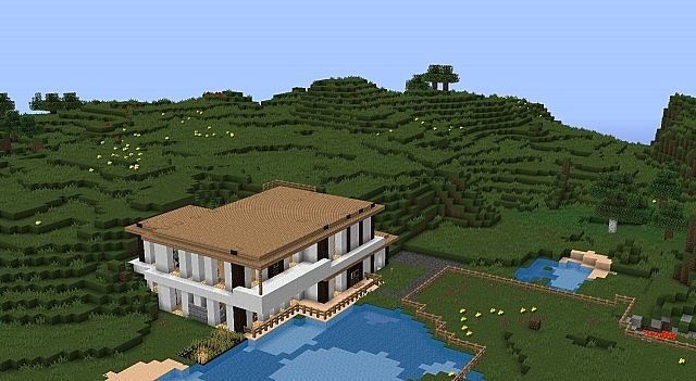 The Modern Horse Ranch Minecraft Project