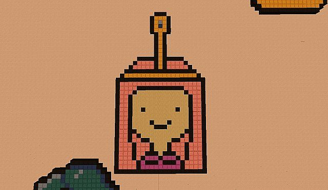 adventure time pixel art pack minecraft project
