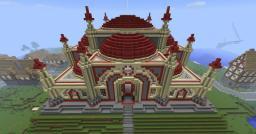 Crimson Temple Minecraft Map & Project