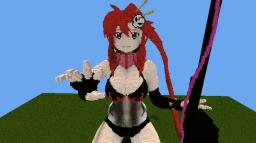 Yoko Littner (Gurren Lagann) Minecraft Project