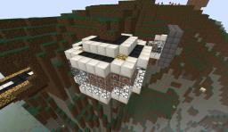 Cliff Face Mansion - Edge Minecraft Map & Project