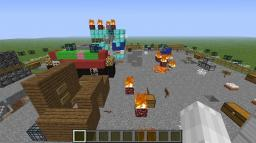 Black Ops II:Nuketown Zombies Minecraft Map & Project