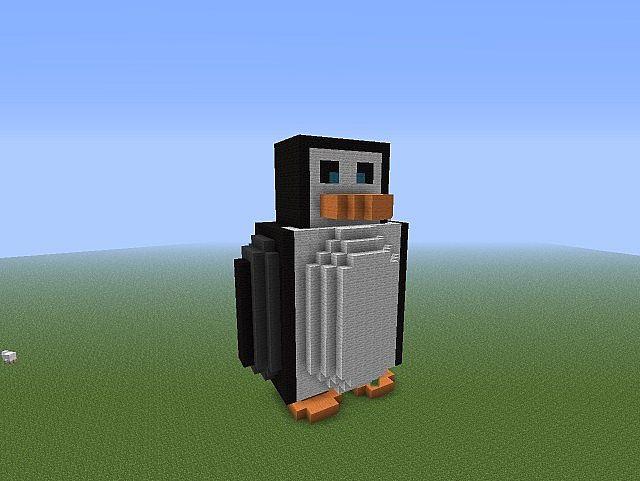 Minecraft House Builds Penguin