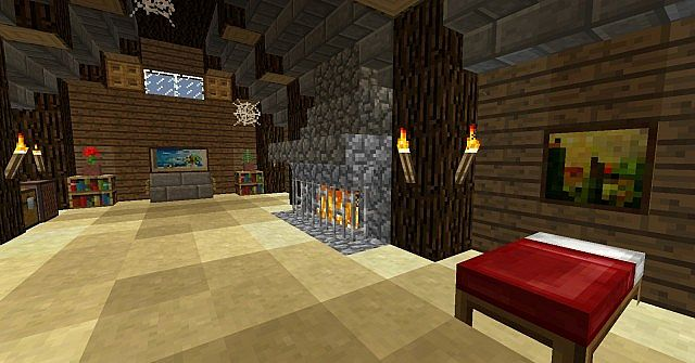 Minecraft Lounge Minecraft Project