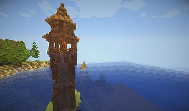 Medieval Lighthouse By Part Of Thecybermine Builders Team Minecraft Project