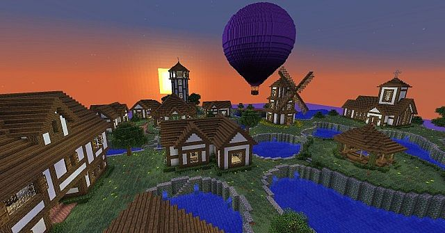 Brightwell A Small Village On The Ocean Minecraft Project