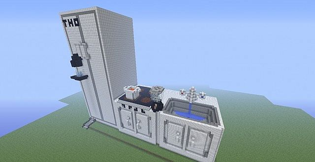 how to make a working sink in minecraft