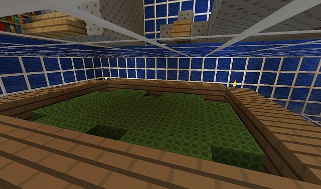 Underwater House Minecraft Project