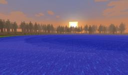 Mountains and Surrounding Forest Minecraft Map & Project