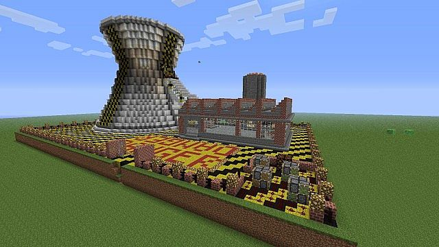 Nuclear Plant Minecraft Project