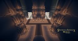 Barak Dûm, Moria inspired caves Minecraft Map & Project