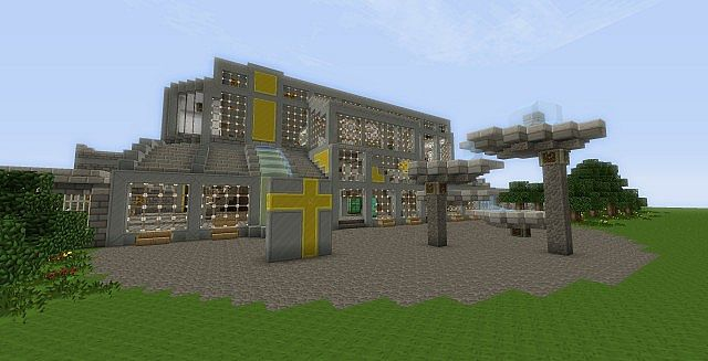 minecraft how to make a train station