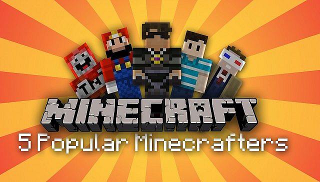 5 Popular Minecraft YouTubers! Minecraft Blog