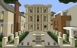 Georgian Style Townhouse Minecraft Map & Project