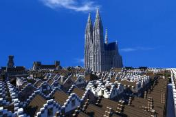 Great Cathedral of Asgard Minecraft Map & Project