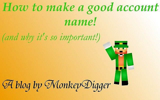 How to make a good account name (and why it's so important ...