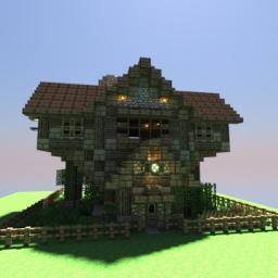 Bolvark's Medieval Buildng Bundle - 17 Schematics/World Save! Minecraft Map & Project