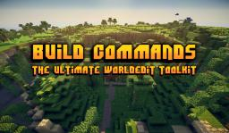 Build Commands 1.8 - The Ultimate Worldedit Toolkit (Over 30 Mapmaking Tools!) Minecraft Mod
