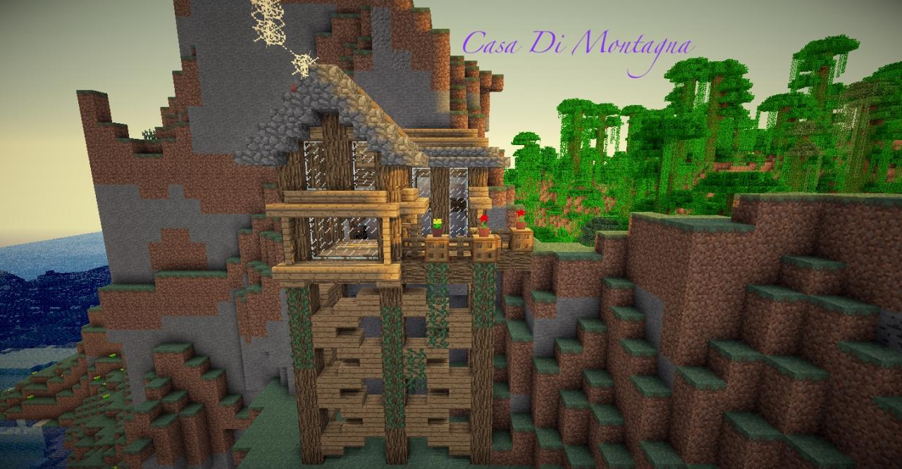 Casa di montagna a medieval build minecraft project for Casa di design