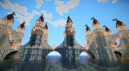 HUGE MAP [7 Theme Cities] [4000+ Buildings] [4000x4000 Map Size] [with Download] [built by 10.000+ Players] Map 7 Minecraft Project
