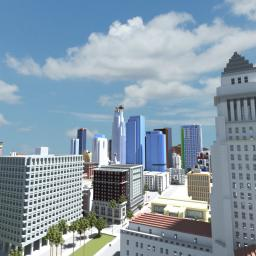 Los Santos Minecraft Map & Project
